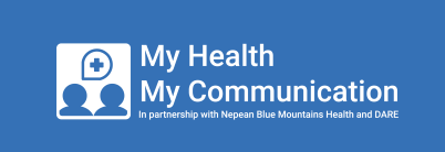 My Health My Communication Logo