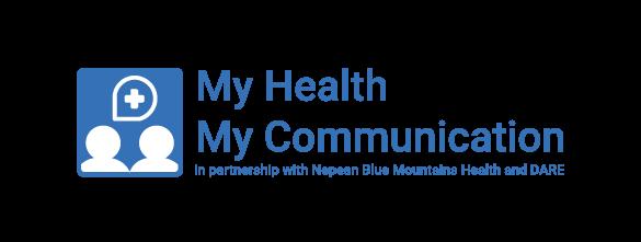 My Health My Communication Logo