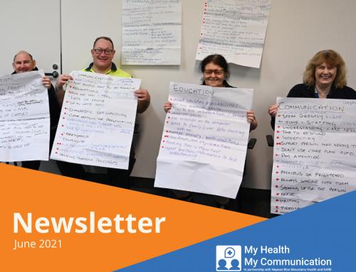 My Health My Communication Newsletter Update June 2021